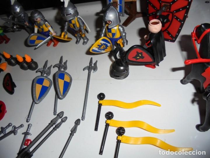 Playmobil: PLAYMOBIL MEDIEVAL LOTE VARIADO MUÑECOS Y ACCESORIOS.ESCUDO,TORRE DRAGON,,,,,, - Foto 17 - 145910422