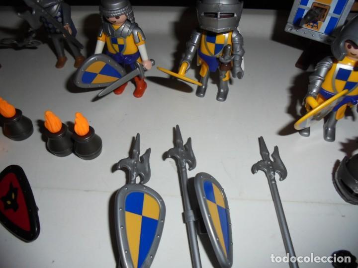 Playmobil: PLAYMOBIL MEDIEVAL LOTE VARIADO MUÑECOS Y ACCESORIOS.ESCUDO,TORRE DRAGON,,,,,, - Foto 18 - 145910422