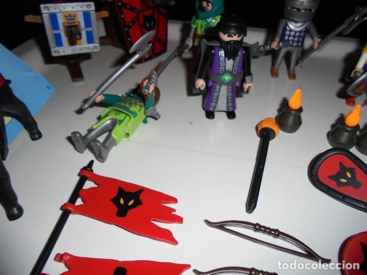 Playmobil: PLAYMOBIL MEDIEVAL LOTE VARIADO MUÑECOS Y ACCESORIOS.ESCUDO,TORRE DRAGON,,,,,, - Foto 19 - 145910422