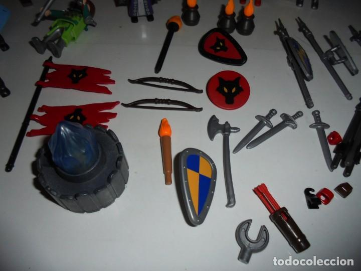 Playmobil: PLAYMOBIL MEDIEVAL LOTE VARIADO MUÑECOS Y ACCESORIOS.ESCUDO,TORRE DRAGON,,,,,, - Foto 20 - 145910422