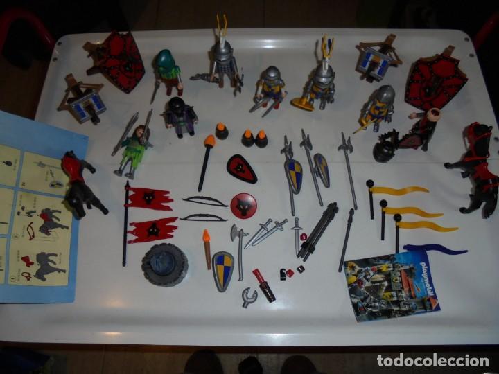 Playmobil: PLAYMOBIL MEDIEVAL LOTE VARIADO MUÑECOS Y ACCESORIOS.ESCUDO,TORRE DRAGON,,,,,, - Foto 21 - 145910422