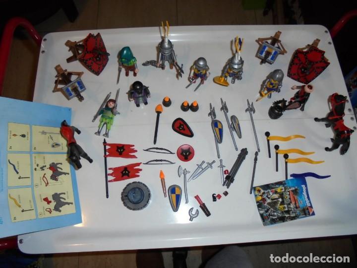 Playmobil: PLAYMOBIL MEDIEVAL LOTE VARIADO MUÑECOS Y ACCESORIOS.ESCUDO,TORRE DRAGON,,,,,, - Foto 22 - 145910422