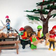 Playmobil: PLAYMOBIL FIESTA FESTIN MEDIEVAL REF 6464 IGUAL 3627 COMPLETA Y NUEVA. Lote 151861749