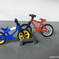 Playmobil: PLAYMOBIL 2 BICICLETAS CIUDAD CON APARCA BICIS . Lote 146800962