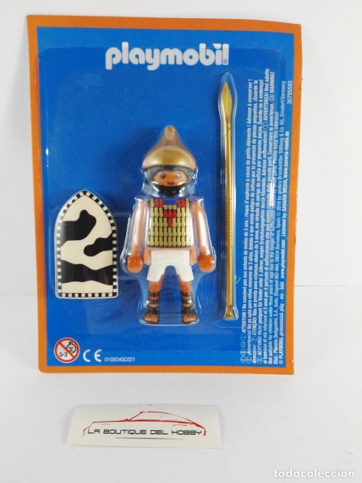 FIGURA SOLDADO IMPERIO DEL NILO ALTAYA PLAYMOBIL (Juguetes - Playmobil)
