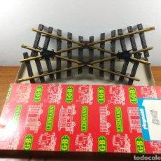 Playmobil: CRUCE DE VÍAS A 30º DE PLAYMOBIL / LEHMANN / LGB, REF. 4360. Lote 147371362