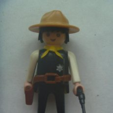 Playmobil: PLAYMOBIL DE 1974 : FIGURA DE SHERIFF CON PISTOLA. Lote 147415062