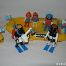 Playmobil: BARCA / LANCHA ALPHA 800 CON BUCEADORES DE FAMOBIL / PLAYMOBIL REF. 3479 - MUY COMPLETO -. Lote 147466082