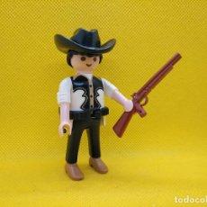 Playmobil: PLAYMOBIL VAQUERO CON ESCOPETA DE CAÑONES RECORTADOS. Lote 147556938