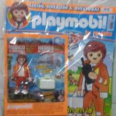 Playmobil: REVISTA PLAYMOBIL NÚMERO 27 PRECINTADA + PLAYMOBIL MEDICO DE EMERGENCIAS CON SUS ACCESORIOS.. Lote 147606094