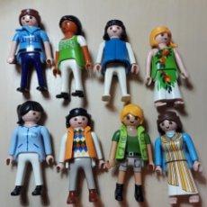 Playmobil: LOTE DE 8 MUJERES PLAYMOBIL DIFERENTES TEMÁTICAS (MEDIEVAL,POLICÍA.. ). Lote 148095908