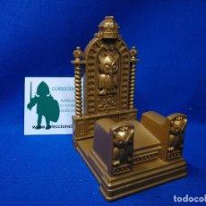 Playmobil: PLAYMOBIL TRONO DORADO CON BUHOS GRABADOS. Lote 148101906