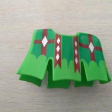 Playmobil: PLAYMOBIL CABALLO MANTA GUALDRAPA MEDIEVAL TORNEO VERDE. Lote 148775110