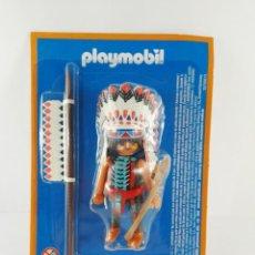 Playmobil: FIGURA JEFE INDIO PLAYMOBIL ALTAYA. Lote 151474640