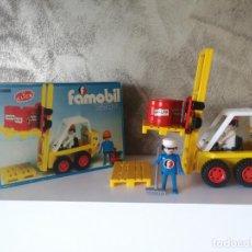 Playmobil: CARRETILLA ELEVADORA FAMOBIL 3506 EN CAJA . Lote 149680190