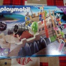 Playmobil: CAJA DE PLAYMOBIL CON PIEZAS VARIAS. Lote 149716254
