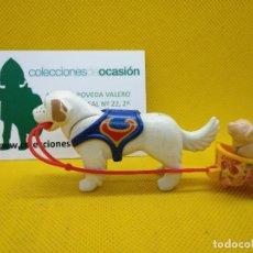Playmobil: PLAYMOBIL PERROS DE CIRCO CON CARRITO. Lote 150504554