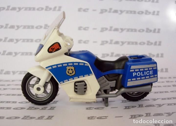 PLAYMOBIL 4262 MOTO POLICÍA - POLICÍAS CIUDAD (Juguetes - Playmobil)