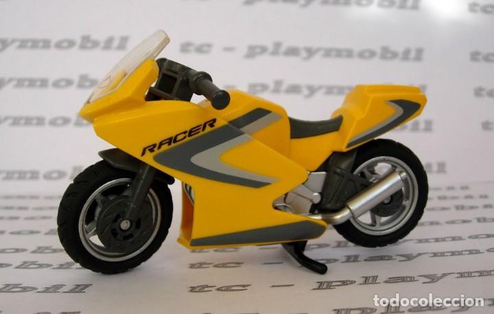 PLAYMOBIL 5116 MOTO RACER MOTOCICLETA DEPORTIVA DE CARRERAS (Juguetes - Playmobil)