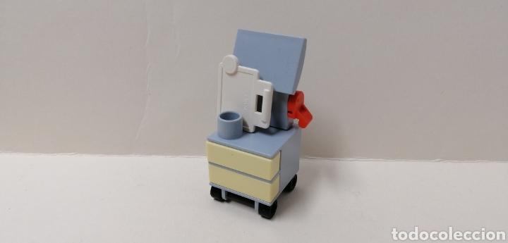 PLAYMOBIL, 4875 ECÓGRAFO CLÍNICA VETERINARIA HOSPITAL MUEBLE CARRO LIBRETA CARPETA CAJÓN TOP AGENTS (Juguetes - Playmobil)
