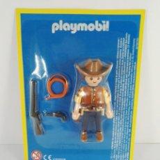 Playmobil: LOS VAQUEROS DE LOS GRANDES PRADOS PLAYMOBIL ALTAYA. Lote 151408122