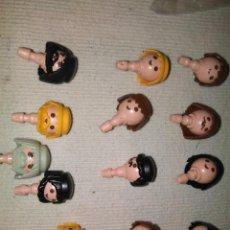 Playmobil: PLAYMOBIL LOTE DE 13 CABEZAS. Lote 151591366