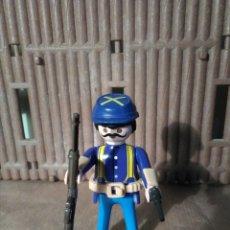 Playmobil: PLAYMOBIL SOLDADO NORDISTA, FUERTE, OESTE, WESTERN. Lote 151669514