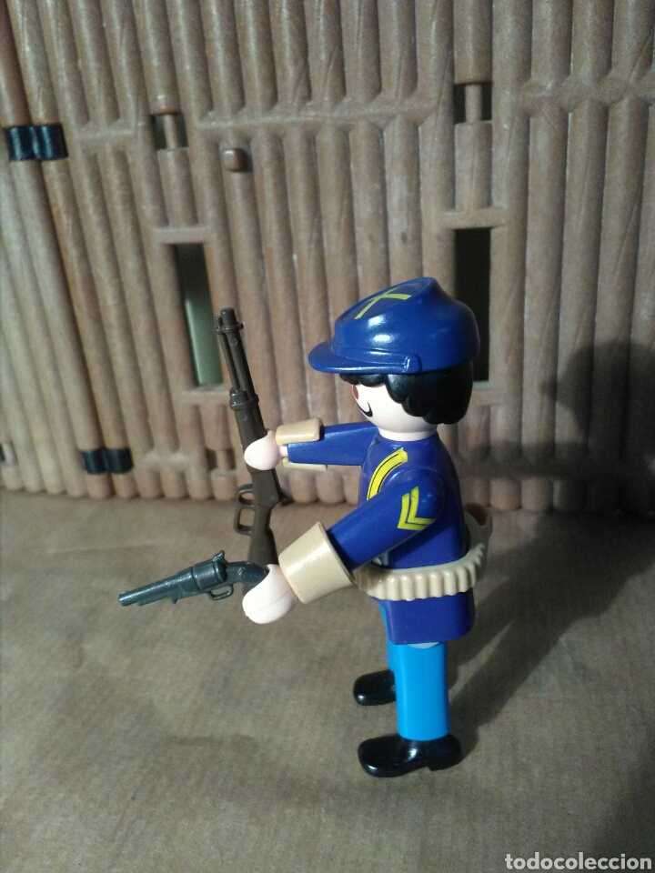 Playmobil: Playmobil soldado nordista, fuerte, oeste, western - Foto 2 - 151669514
