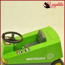 Playmobil: GER 686 - PLAYMOBIL - CIUDAD BASUREROS LIMPIEZA - BARREDORA LIMPIADOR CALLE RECYCLING 3790. Lote 151847110