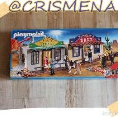 Playmobil: PLAYMOBIL MALETIN DEL OESTE (4398) VER FOTOS PARA ESTADO. Lote 151857946