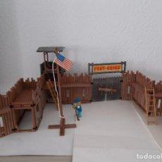 Playmobil: FAMOBIL ORIGINAL AÑOS 70 SERIE OESTE FORT UNION COMPLETO PERO SIN CAJA REF. 3420. NO PLAYMOBIL. PTOY. Lote 152759510