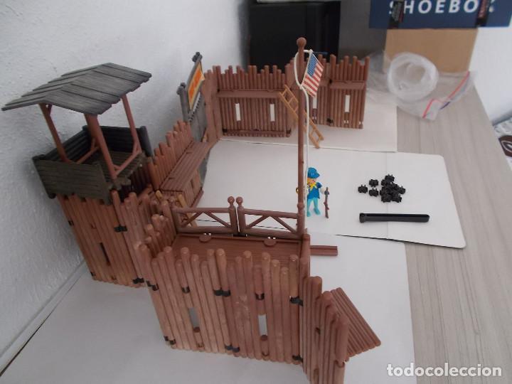 Playmobil: FAMOBIL ORIGINAL AÑOS 70 SERIE OESTE FORT UNION COMPLETO PERO SIN CAJA REF. 3420. NO PLAYMOBIL. PTOY - Foto 3 - 152759510