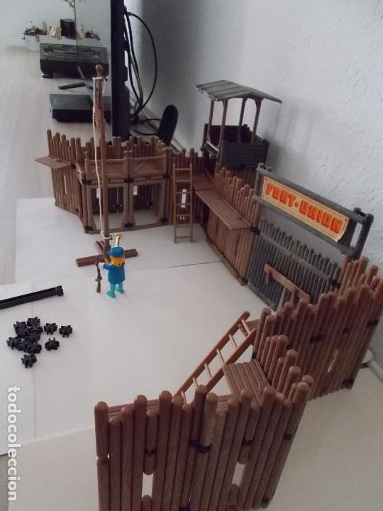 Playmobil: FAMOBIL ORIGINAL AÑOS 70 SERIE OESTE FORT UNION COMPLETO PERO SIN CAJA REF. 3420. NO PLAYMOBIL. PTOY - Foto 4 - 152759510