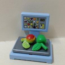 Playmobil: PLAYMOBIL, BALANZA SUPERMERCADO COMIDA 3202 TIENDA MANZANA FRUTA CIUDAD MERCADO. Lote 153403274