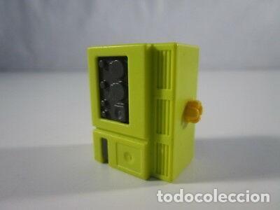 PLAYMOBIL-GENERADOR AMARILLO DE CAMION BOMBEROS MODERNO 4820. (Juguetes - Playmobil)
