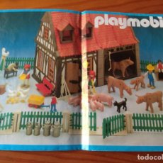 Playmobil: PLAYMOBIL 3556. MANUAL DE CONSTRUCCION DE LA GRANJA DE PLAYMOBIL - INSTRUCCIONES MONTAJE. Lote 154621662