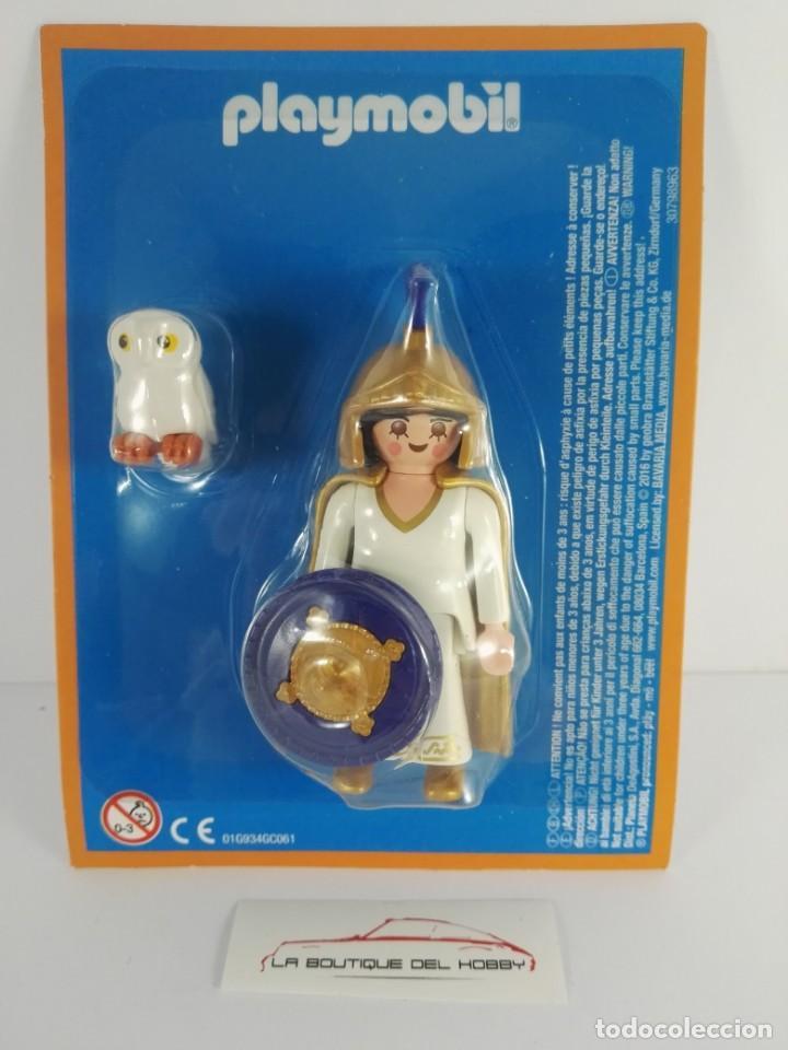 FIGURA ATENEA DIOSA GRIEGA ALTAYA PLAYMOBIL (Juguetes - Playmobil)