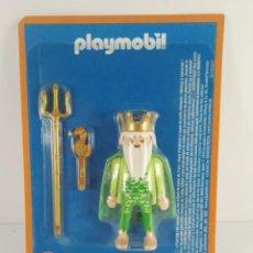 Playmobil: FIGURA POESIDON DIOS GRIEGO ALTAYA PLAYMOBIL. Lote 154669366
