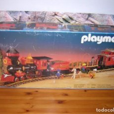 Playmobil: PLAYMOBIL 4034 TREN OESTE STEAMING MARY. Lote 154759190