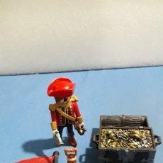 Playmobil: LOTE PIRATA PLAYMOBIL Y COFRE. Lote 155319118