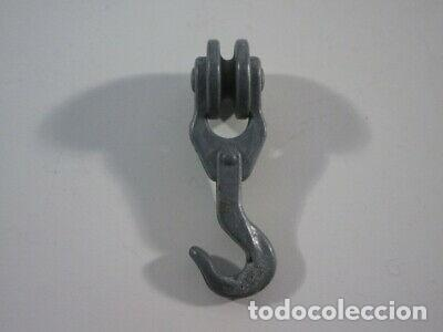 PLAYMOBIL-POLEA DE PLOMO DE MONTACARGAS GALEON.3550.3750. (Juguetes - Playmobil)