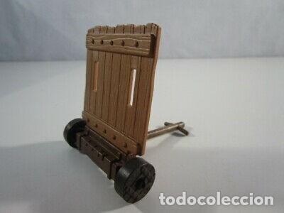 PLAYMOBIL-PARAPERO DE ASEDIO CASTILLO PARA GUERRERO MEDIEVAL. (Juguetes - Playmobil)