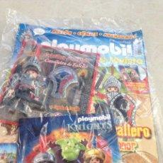 Playmobil: REVISTA PLAYMOBIL NUMERO 10 CON FIGURA MEDIEVAL CABALLERO Y COMPLEMENTOS. Lote 155560546