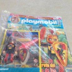Playmobil: REVISTA PLAYMOBIL NUMERO 26 CON FIGURA A ESTRENAR COLECCION. Lote 155562446
