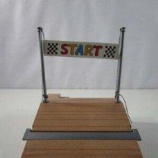 Playmobil: PLAYMOBIL-PLATAFORMA DE SALIDA CARRERAS DE KARTS NIÑOS. . Lote 155715410