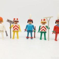 Playmobil: RAREZAS DE COLECCIÓN. PLAYMOBILS ANTERIORES AL MOLDE 1974. REFS 3118, 3119, 3128, 3119 Y 3128 PIES B. Lote 155821002