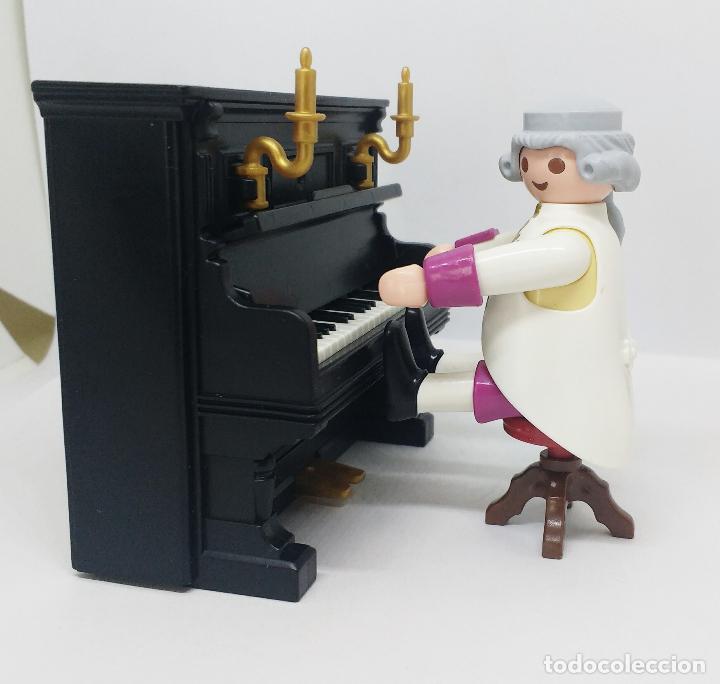 PLAYMOBIL CUSTOM WOLFGANG AMADEUS MOZART CON PIANO (Juguetes - Playmobil)
