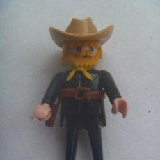 Playmobil: PLAYMOBIL DE 1974 : FIGURA DE VAQUERO CON BARBA.. Lote 155998286