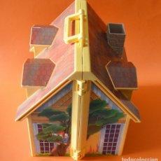 Playmobil: CASA DE MUÑECAS CON CHIMENEA - MALETA - MALETIN - PLAYMOBIL. Lote 156092122