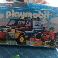 Playmobil: VEHICULO 4X4 TODOTERRENO PLAYMOBIL 3764 COCHE CAMPO CAMPING AVENTURA JEEP. Lote 156593950